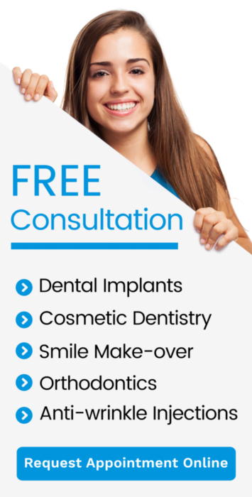 Free Dental Implant, Cosmetic, Smile Makeover, Orthodontics, Botox Consulation